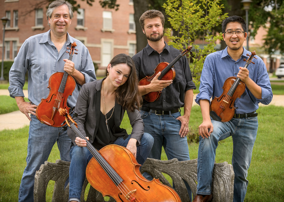 Ceruti String Quartet Opens Sclater Music Series at Mississippi
